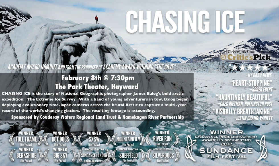 Chasing Ice E-Flyer